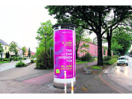 """Der """"Asphalt-Granit"""" bewährt sich in Senftenberg"""