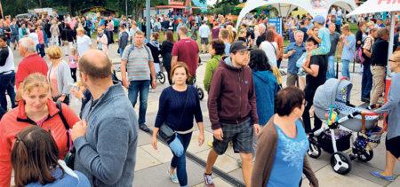 Senftenberg: 30000 Leute im Hafen