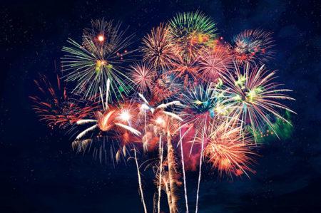 Cottbus: Feuerwerk und Musik