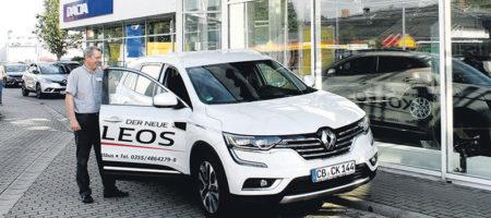 """Cottbus: Der neue """"Koleos"""" lädt zur Probefahrt"""
