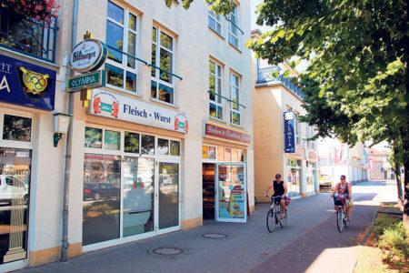 Senftenberg: Vom Kahnhafen zum Einkaufsmagneten