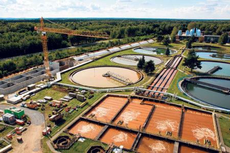 Schwarze Pumpe: Großbaustelle in Pumpe
