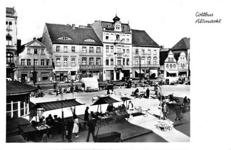 """Altes Cottbus: Der Altmarkt als """"Guter Stube"""""""
