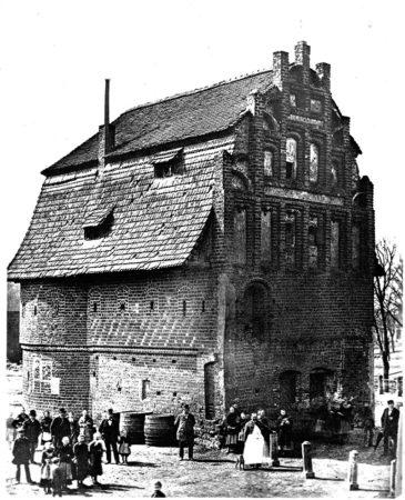 Altes Cottbus: Die alte Bastei neben dem Spremberger Turm