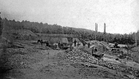 Altes Senftenberg: Der alte Steinbruch auf dem Koschenberg