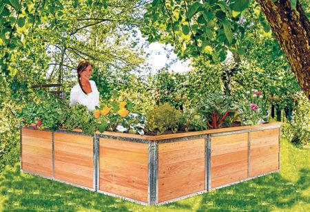Modulares Gärtnerglück
