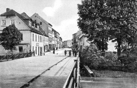 Altes Spremberg: Die Georgenstraße im Zentrum