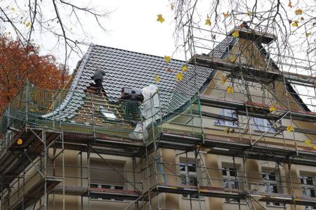 Spremberg: Das Dach ist bald wieder dicht