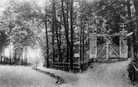 Altes Spremberg: Das alte Eingangstor vom Georgenberg-Friedhof