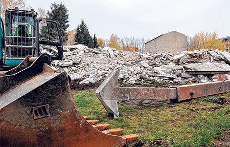 Ortrand: In Ortrand wird weiter abgerissen