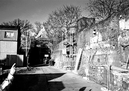 Damals war's Cottbus: Nordost-Pfeiler der Stadtmauer