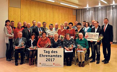 Senftenberg: Ehrenamtler werden ausgezeichnet