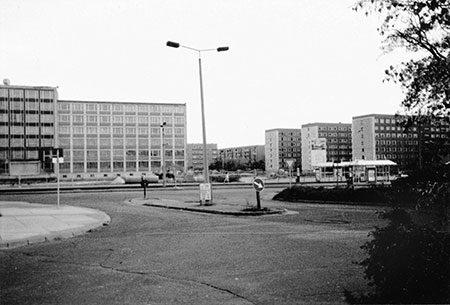 Damals war's Cottbus: Blick in die Vetschauer Straße