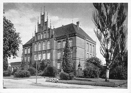 Damals war's Cottbus: Im Volksmund Webschule genannt