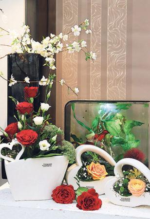 Sag es mit FLORALIA-Blumen…