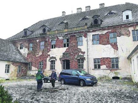 Denkmalfreunde sichern Schloss