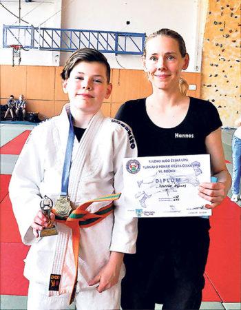 Erfolg beim Internationalen Judoturnier