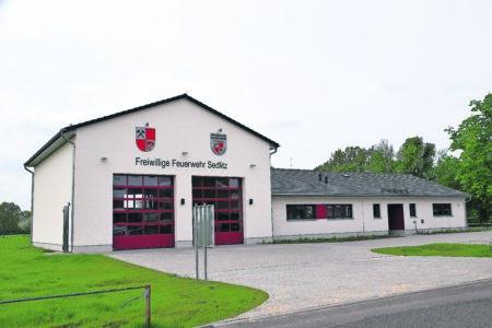 Sedlitzer Feuerwehr bezieht neue Zentrale
