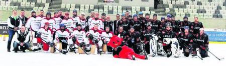Grenzenloser Eishockey-Spaß bei den Kumpels