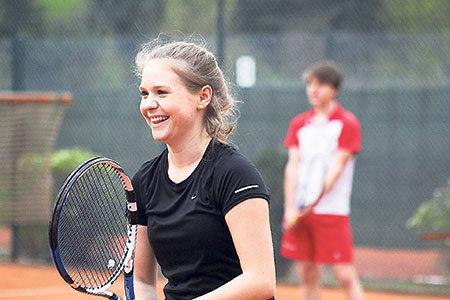 Auf zum Tennis-Schnuppertraining