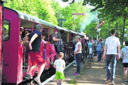 Kinderfest der Cottbuser Parkeisenbahn