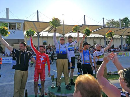 Radsport begeistert Forster Publikum