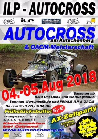 Autocross am Kutschenberg Ortrand
