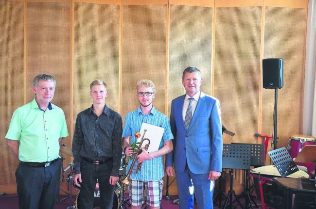 Musiktalente geben Konzert in Senftenberg
