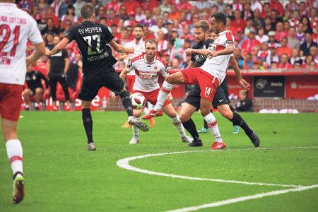 FC Energie gegen SV Meppen am 25.08.2018