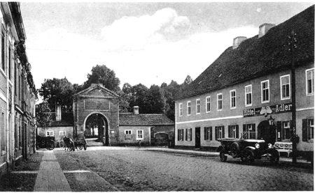 Das Pförtener Elternhaus des F.F. Sack