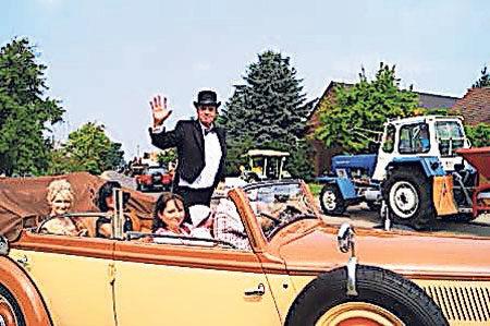 in Drieschnitz-Kahsel wird Drei Mal die Fünfgefeiert