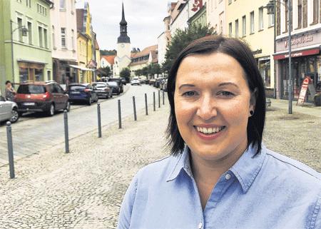 Madlen Schwausch wird Sprembergs neue City-Managerin