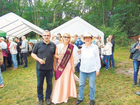 Der Weinberg in Klein Oßnig ruft zum Fest am 9.9.2018
