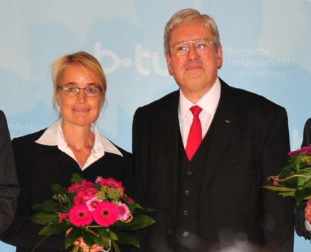 Christiane Hipp übernimmt Leitung der BTU Cottbus-Senftenberg
