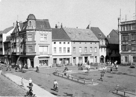 Damals war`s: Der Senftenberger Markt