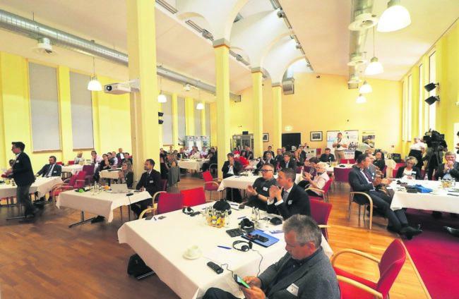 Grenz-übergreifende Wirtschaftskonferenz in Gubin-Guben