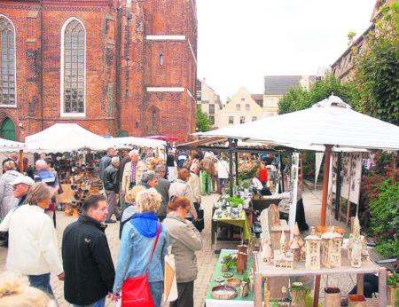 Töpfer zu Gast und offene Geschäfte in Cottbus