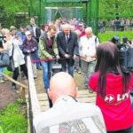 Große Freiflugvoliere für Flamingos in Cottbus eröffnet