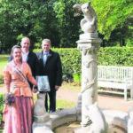 Rosengarten-Parkführer für Sehbehinderte in Forst erschienen