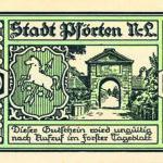 Alte Niederlausitzer Neisse: Notgeld aus den 20er Jahren