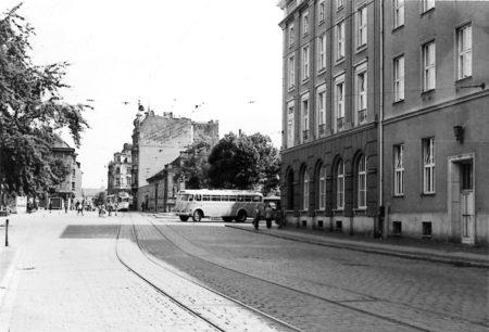 Damals war's Cottbus: In der Cottbuser Mitte noch Trümmer