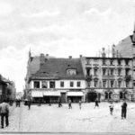 Altes Forst: Der Markt mit Blick in die Lindenstraße