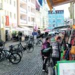 Kreuzstraße in Senftenberg: Wo Senftenberger und Gäste gerne bummeln
