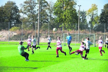 Nachwuchs-Fußball: Wacker siegte gegen die FC Energie Cottbus Junioren am 14.10.2018
