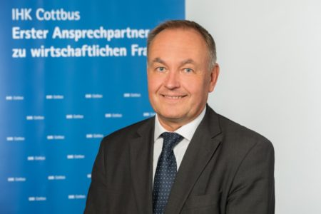 Neuer Hauptgeschäftsführer der IHK Cottbus Marcus Tolle im Amt