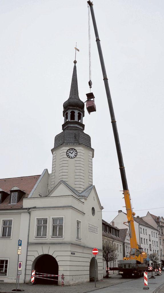 Spremberger Rathausturm wieder sicher