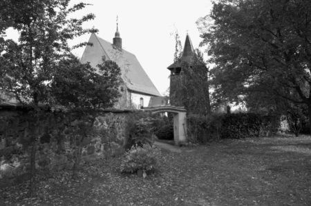 Damals wars Niederlausitz: Zarte bäuerliche Malerei ziert den Chor