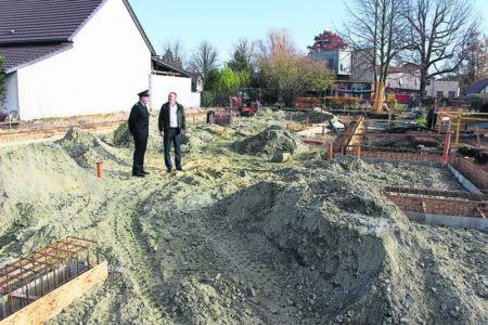 Neues Gerätehaus für die Feuerwehr in Hosena in 2019