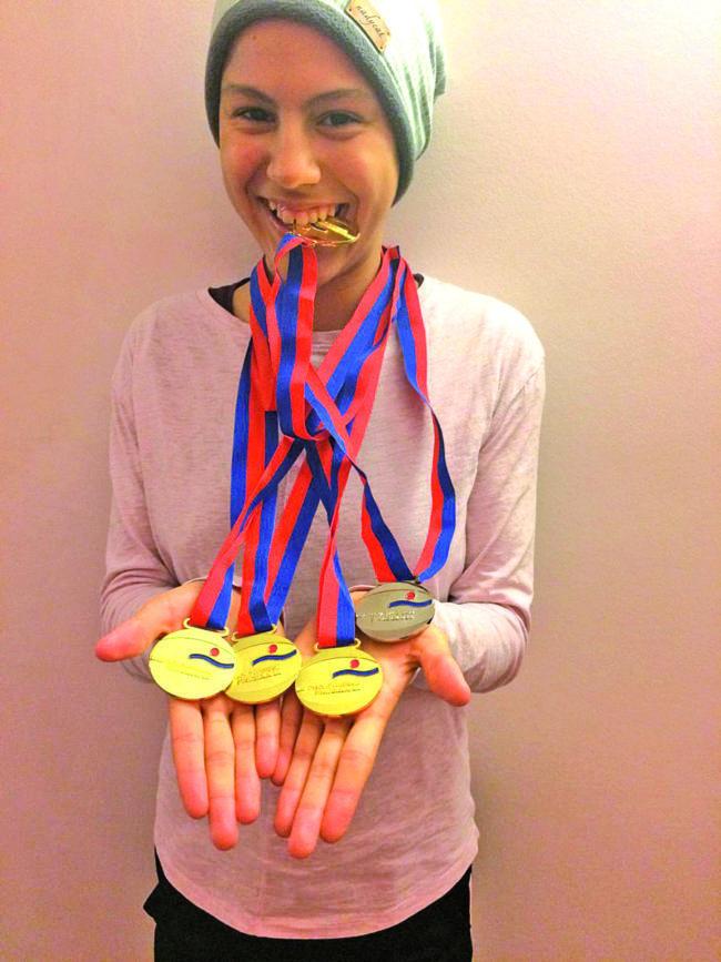 Wassersport: Cottbuser Nachwuchsschwimmerin wird Landesmeisterin