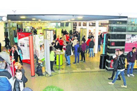 Berufsorientierungsbörse iBOB am 17.11.18 in Cottbus